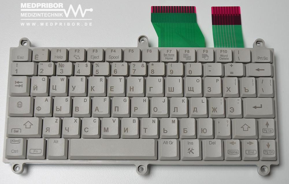 GE PN H44452LD (5168629) Клавиатура для Logiq P5/A5 Lat-Rus Keyboard, новая