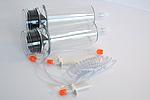 High-pressure syringe